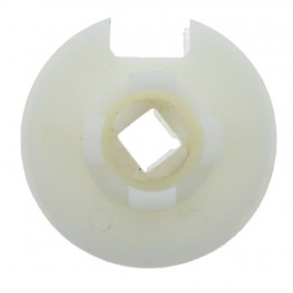 Embout pour tube rond 89 mm