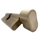 Cylindre à bouton Haute sécurité F6S Long 40x40