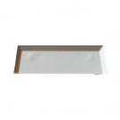 Pare tempête en PVC Blanc Eco