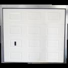 Porte de Garage Sectionnelle Blanche Éco 240x212