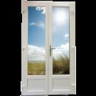 Porte Fenêtre 2 vantaux Largeur 1660 mm