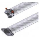 Ressort 50.8 mm fil 5.0 mm L= 500 mm gauche galvanisé