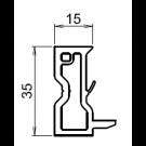 Tapée d'isolation pour fenetre blanche +15mm